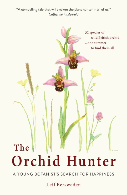Paperback of The Orchid Hunter: a young botanist's search for happiness first released in 2018
